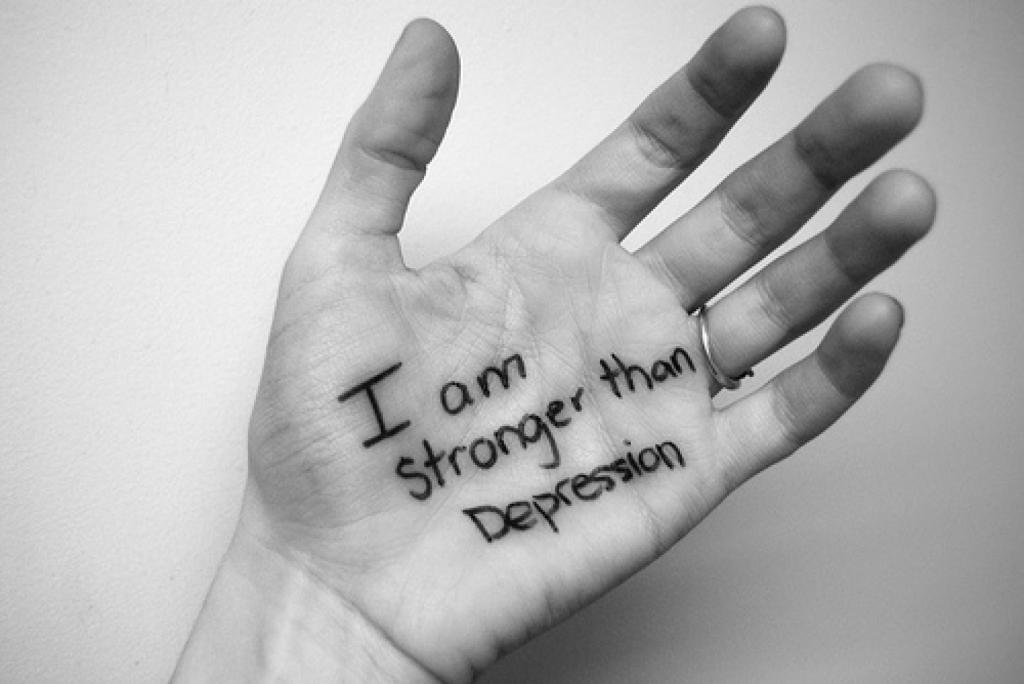 """""""Я сильнее, чем депрессия"""""""