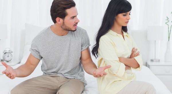 муж и жена поссорились