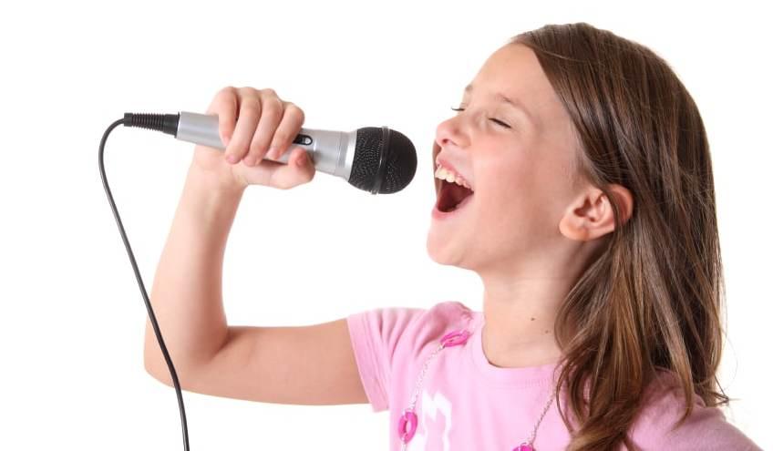 Картинка как поют